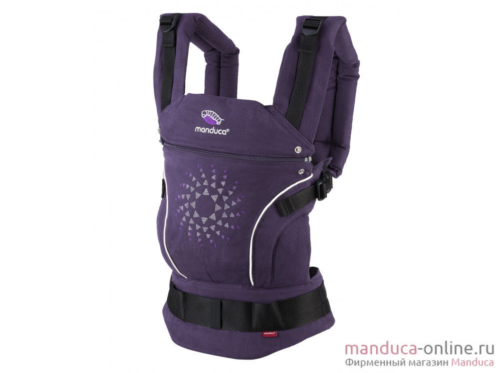 Слинг-рюкзак manduca LimitedEdition PurpleDarts
