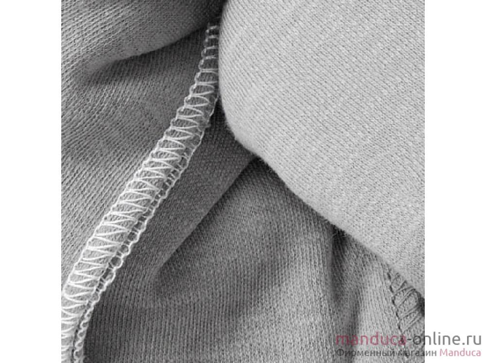 Трикотажный слинг-шарф manduca sling lightgrey