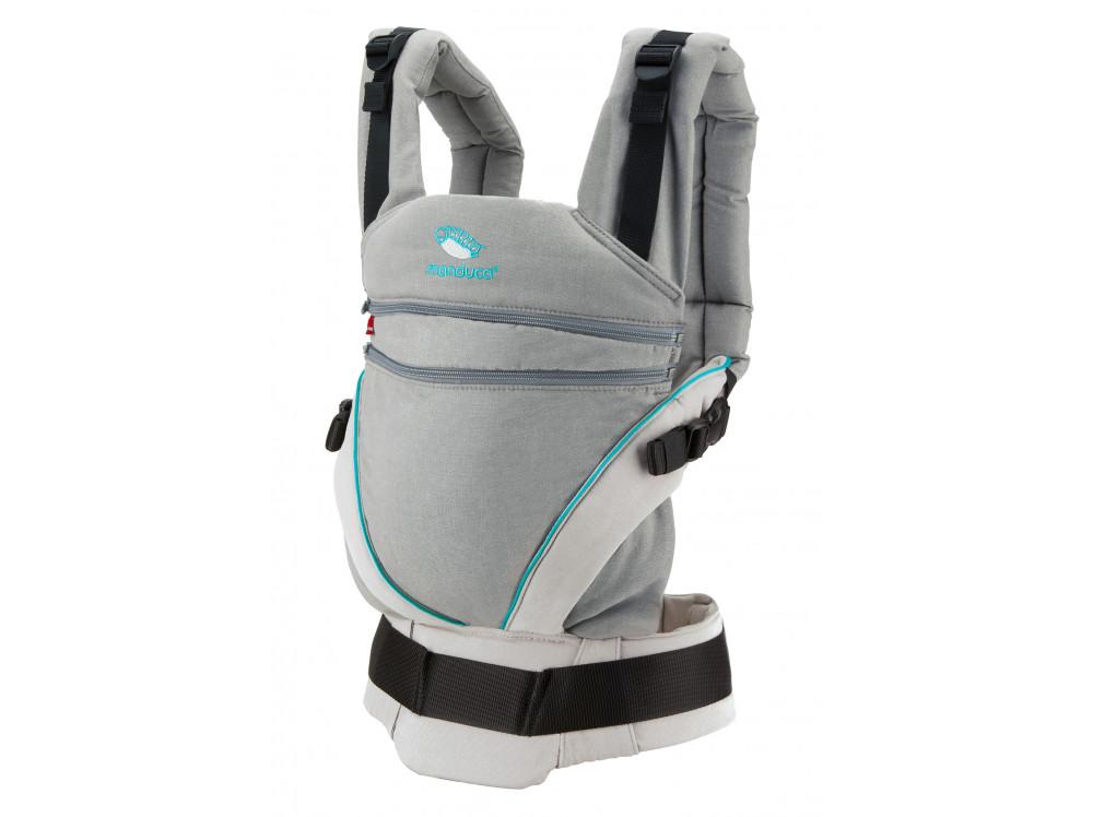 Слинг-рюкзак manduca XT Grey-Ocean