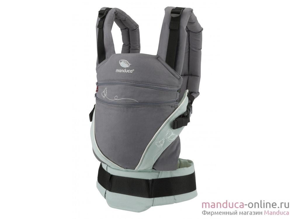 Слинг-рюкзак manduca XT LimitedEdition ButterflyGrey