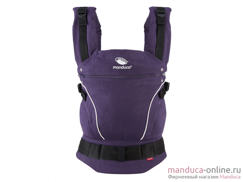 Слинг-рюкзак manduca PureCotton Purple