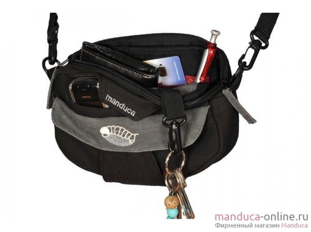 Поясная сумочка manduca Pouch (черная)