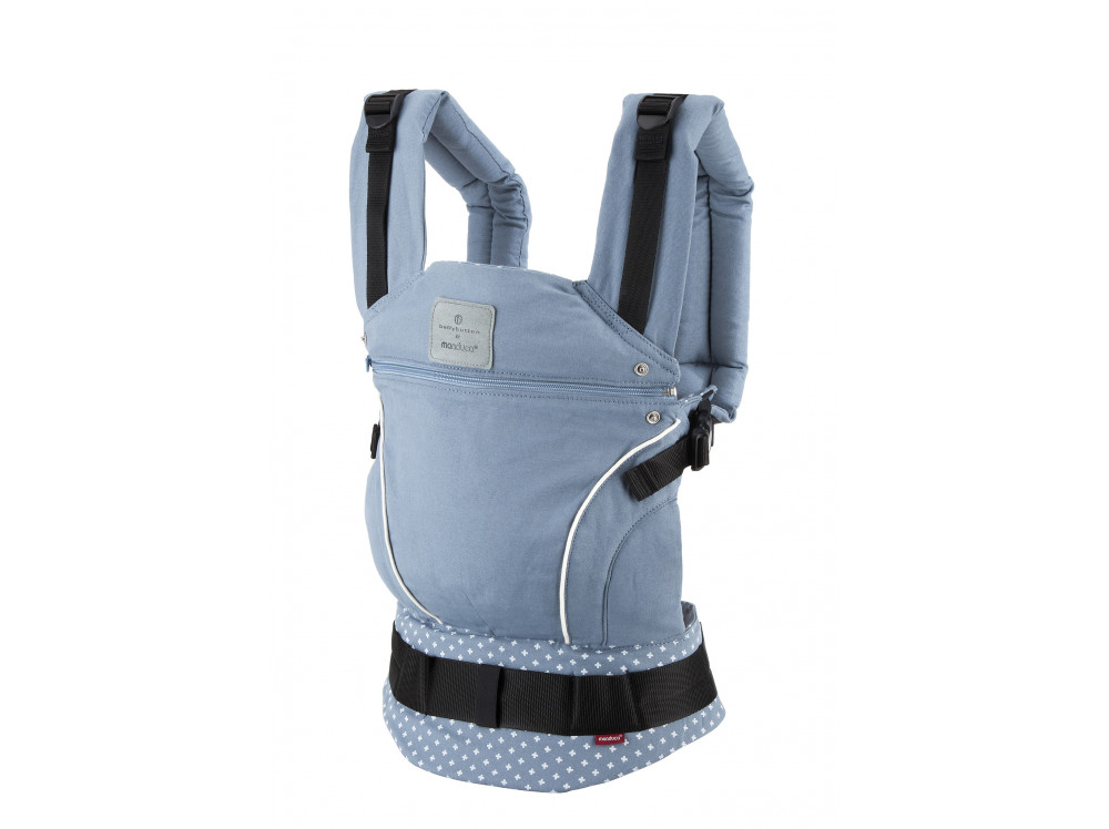 Слинг-рюкзак bellybutton by manduca WildCrosses blue (голубой)