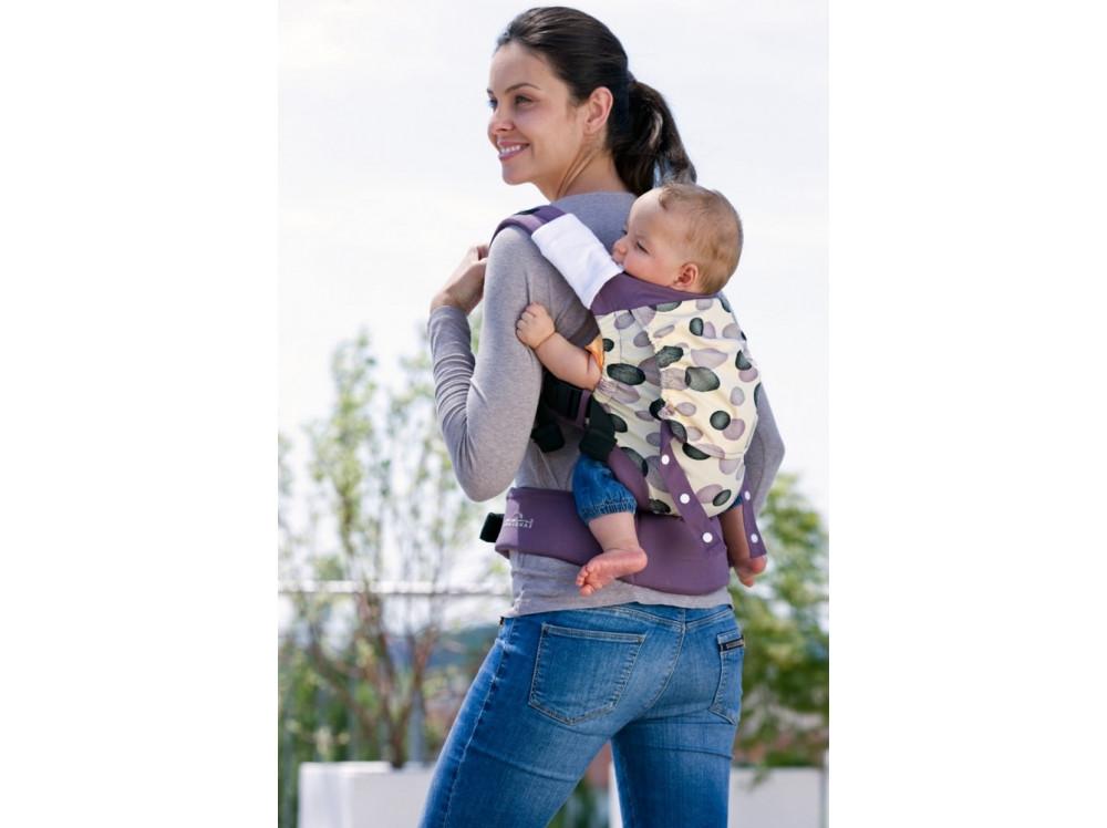 Эргономичный слинг-рюкзак MANDUCA Amazonas Smart Carrier Blueberry