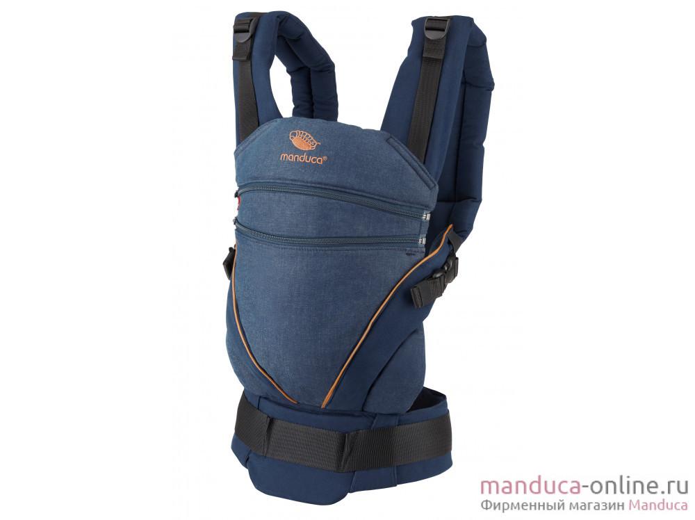 Слинг-рюкзак manduca XT Denimblue-Toffee