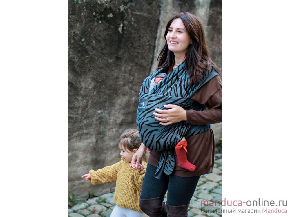 Трикотажный слинг-шарф manduca LimitedEdition Zebra