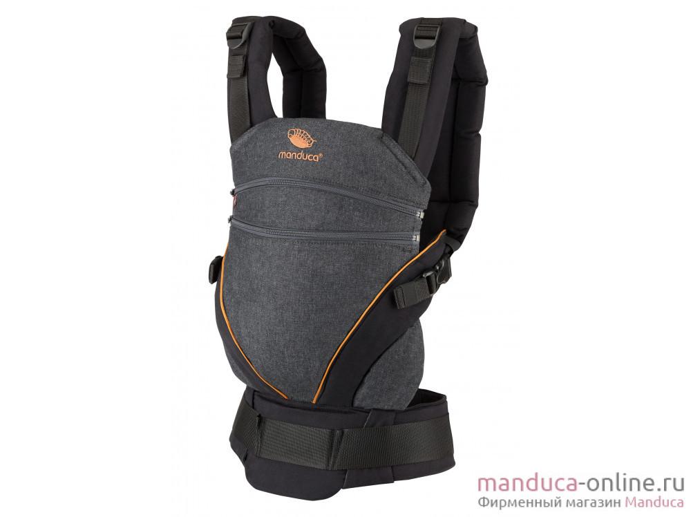 Слинг-рюкзак manduca XT Denimblack-Toffee