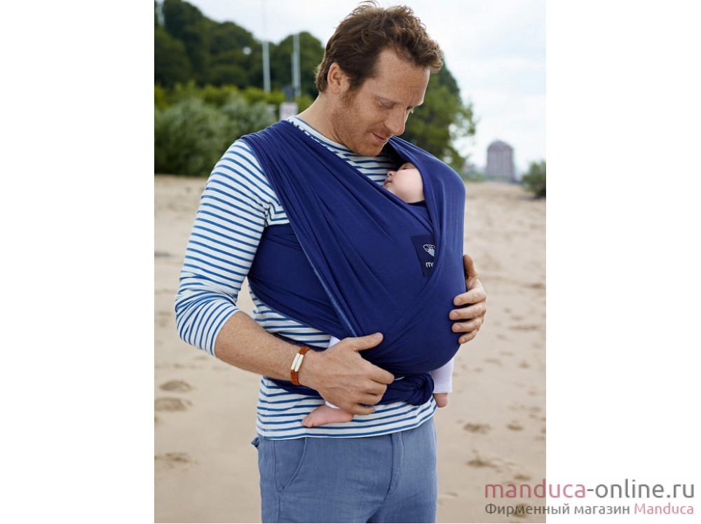Трикотажный слинг-шарф manduca sling royal