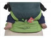 Эргономичный слинг-рюкзак MANDUCA Amazonas Smart Carrier Green ultra-light