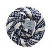 Трикотажный слинг-шарф bellybutton by manduca Sling BohoBlue (синий)