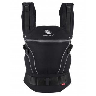Слинг-рюкзак manduca BlackLine PhantomGrey в комплекте с накладками