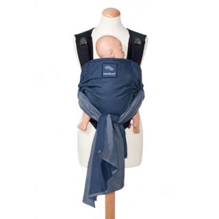 Слинг-рюкзак manduca DUO со съемным поясом blue (синий)
