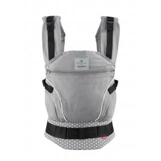 Слинг-рюкзак bellybutton by manduca WildCrosses grey (серый)