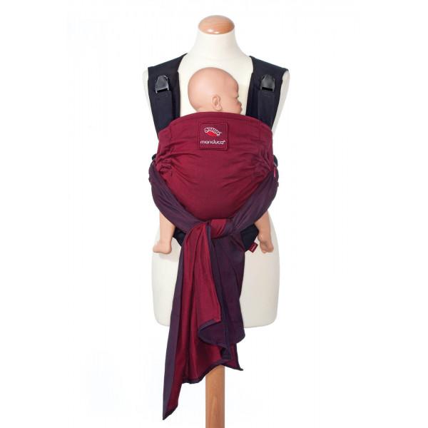 Слинг-рюкзак manduca DUO со съемным поясом red (красный)