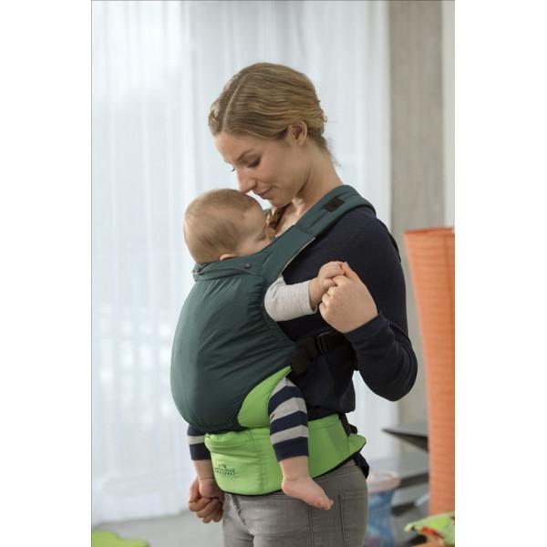 Эргономичный слинг-рюкзак Amazonas Smart Carrier Green ultra-light (зеленый)