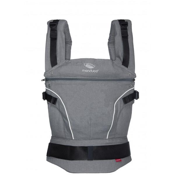 Слинг-рюкзак manduca pureCotton Dark grey