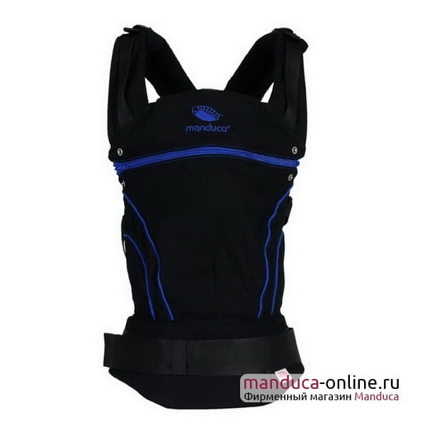 Слинг-рюкзак manduca BlackLine AbsoluteBlue